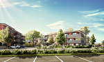Dernier étage terrasse - Vente d'un appartement 4 pièces (95.39m²)  dans programme neuf à THONON LES BAINS 4/5